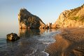 Rock diva simeiz crimea ukraine near black sea Stock Images