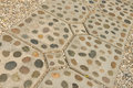 Rock foot path decoration background and texture Royalty Free Stock Photo