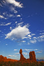 Rock formation , Arches National Park, Utah