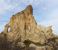 Rock Formations in Cappadocia, Turkey Stock Photography