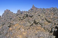 Rock Formations at Craters of the Moon National Monument, Idaho Royalty Free Stock Photo