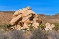 Rock formations at joshua tree national park california usa Royalty Free Stock Photography