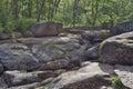 Rock Garden in Sophia park Royalty Free Stock Photo