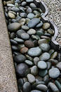 Rock garden trim Royalty Free Stock Photography