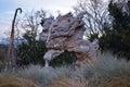 Rock Monument Landscape Royalty Free Stock Photo