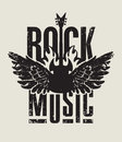 Rock music Royalty Free Stock Photo