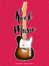 Rock music poster design Royalty Free Stock Photo