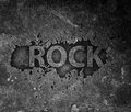 rock music poster Royalty Free Stock Photo