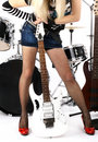 Rock-n-roll and Anna Royalty Free Stock Photo
