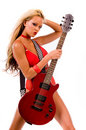 Rock N Roll Lingerie Stock Image