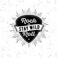 Rock n Roll white