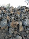 Rock Pile Royalty Free Stock Photo