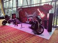 Rock and Roll Harley Davidson Photowall Royalty Free Stock Photo