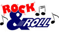 Rock and roll music/eps Royalty Free Stock Photo