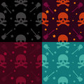 Rock and Roll Pattern Royalty Free Stock Photography