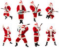 Rock santa end Royalty Free Stock Photos