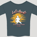 Rock show tee shirt live template vector illustration Royalty Free Stock Photography