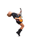 Rock star girl Royalty Free Stock Photo