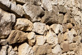 Rock wall background made of Royalty Free Stock Photo