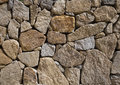 Rock wall background of stone texture Royalty Free Stock Photos