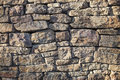 Rock wall detail of south dakota Royalty Free Stock Photos