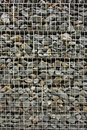 Rock wall with wire Royalty Free Stock Photos