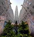 Rockefeller Center Royalty Free Stock Photography