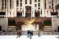 Rockefeller Center, Manhattan, NY. Royalty Free Stock Photo