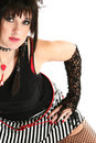 Rocker Chick Stock Images