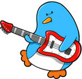 Rocker Penguin Vector Royalty Free Stock Photo