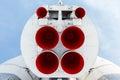 Rocket engine Royalty Free Stock Photo