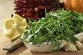 Rocket plant salad Royalty Free Stock Photo