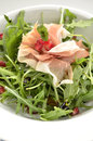 Rocket Salad With Parma Ham An...