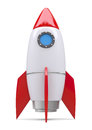 Rocket space ship Royalty Free Stock Photo
