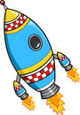 Rocket Vector Illustration Royalty Free Stock Photos