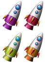 Rockets Royalty Free Stock Photo