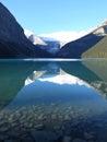 Rockie Mountain lake and reflection Stock Image