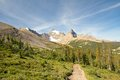 Rockies and Parker Ridge Trail Royalty Free Stock Photo