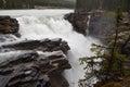Rockies waterfall Royalty Free Stock Photo