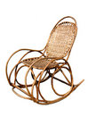 Rocking chair. Stock Photo
