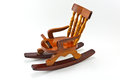 Rocking chair toy Royalty Free Stock Photography