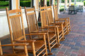 Rocking Chairs Royalty Free Stock Photos
