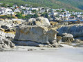 Rocks Beach, Camps Bay, Cape Town, South Africa Royalty Free Stock Photo
