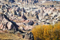 Rocks of cappadocia in central anatolia turkey Royalty Free Stock Image