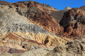 The rocks in Death Valley Royalty Free Stock Photo