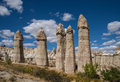 Rocks of love valley in cappadocia the form a penis a historical region central anatolia turkey Stock Photo