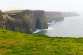 Rocks of moher ireland the image Stock Images