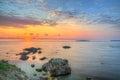 Rocks near Chernomorets village , Bulgaria, Black sea Royalty Free Stock Photo