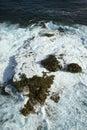 Rocks in ocean. Stock Images