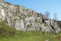 Rocks in quarry former limestone kamenarka near stramberk czech republic Stock Photography
